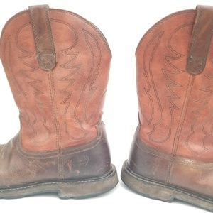 Ariat Shoes - Ariat Leather Cowboy Boots Size 10 D